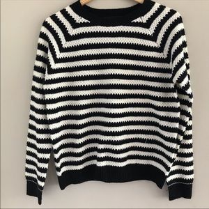 Forever 21 Long Sleeve Striped Sweater